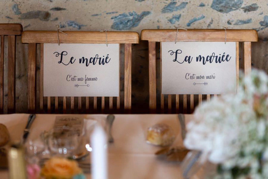 Mariage au château de l'Eperonniere - salle de réception