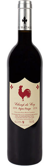 Anjou rouge - Champ du coq - les vins Mathieu Tijou © Jérémy Fiori