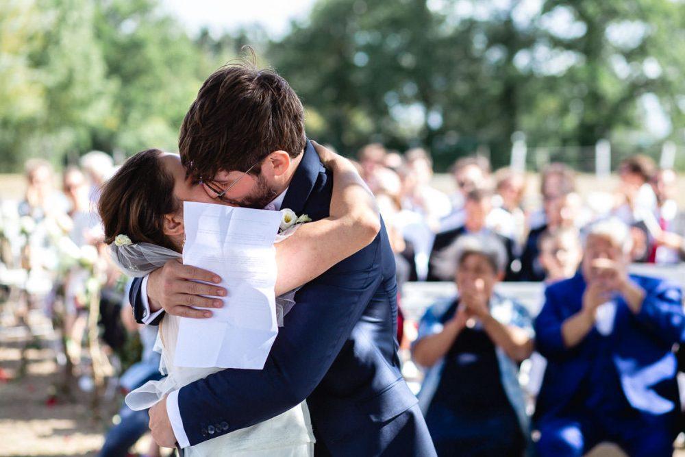 cérémonie laïque mariage chateau eperonniere © Jérémy Fiori